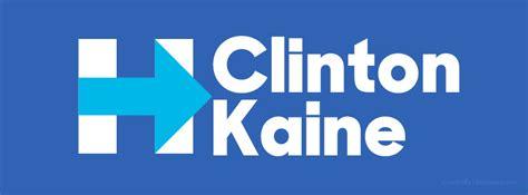 hillary clinton cover hillary clinton kaine h logo blue free facebook covers
