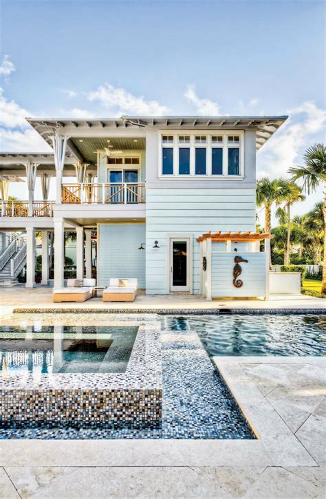 Coastal Home Inspirations On The Horizon Vacation Homes