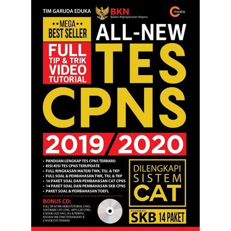 30 просмотров 6 месяцев назад. Buku All New Tes CPNS 2019/2020 - Ausy Media