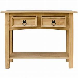 Corona Panama Mexican Solid Pine Wood Furniture Dining