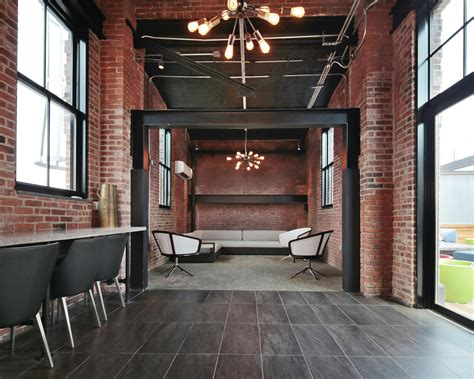 loft style units characterize  revamped warehouse