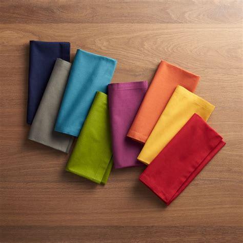 spectra cloth dinner napkins set   reviews crate