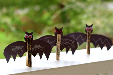 Easy Bat Craft  No Time For Flash Cards
