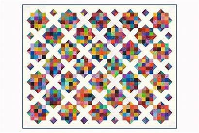Quilt Patch Pattern Scrappy Scrap Sixteen Quilting