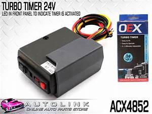 Oex 24v Turbo Timer