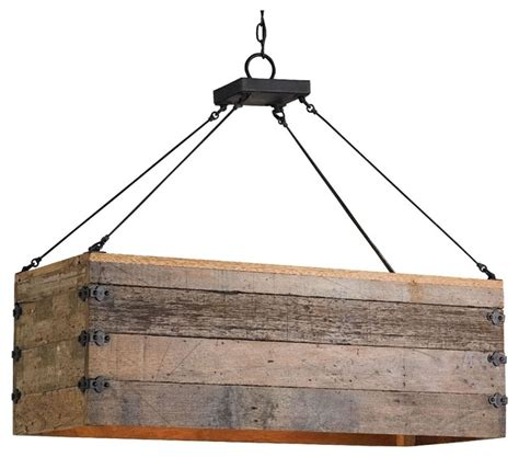 rustic kitchen chandelier reclaimed wood crate chandelier rustic kitchen island