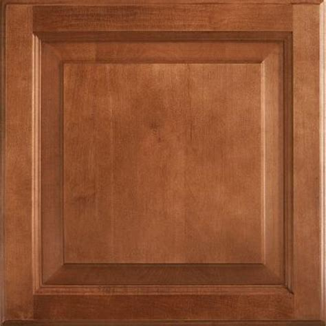 home depot cognac cabinets american woodmark 14 9 16x14 1 2 in cabinet door sle