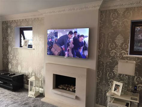 Should A Tv Be Mounted Over A Fireplace Powerpointban