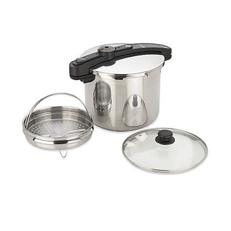 electric pressure cooker for canning fagor 10 quart chef pressure cooker canner bed bath beyond 8862