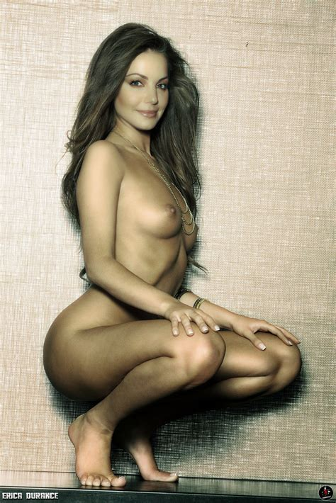 Erica Durance Nude Shows Her Big Boobs At Bed Fake Celebrities Naked