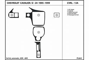 1998 Chevrolet Cavalier Dash Kits