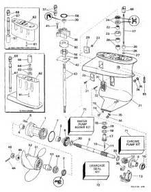 Johnson 1997 15 - Bj15faeua  Gearcase