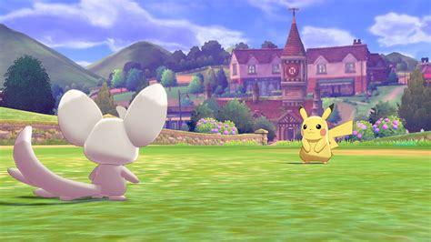 pokemon shield sword switch nintendo announced screenshots check players