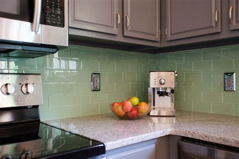 glass backsplash ideas for kitchens amazing subway glass tiles for kitchen ideas for you 4658