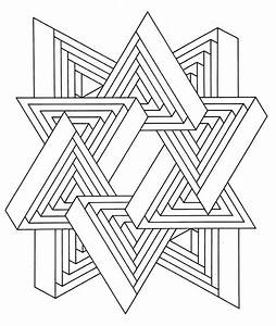 Free Optical Illusion Coloring Pages - Coloring Home