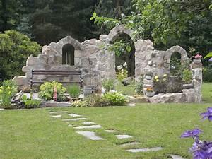 Steinmauer Garten Bilder : burgruine sitzplatz am teich ruine bilder und fotos ideen rund ums haus pinterest ~ Bigdaddyawards.com Haus und Dekorationen