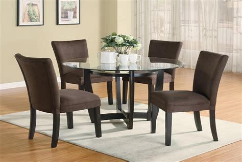 furniture outlet  tempered glass dining table set