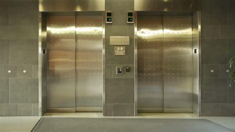 elevator doors closing elevator doors stock footage