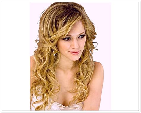 HD wallpapers easy hairstyle for curly long hair