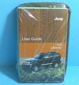 12 2012 Jeep Liberty Owners Manual  User Guide Brand New