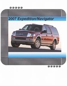Ford Expedition  Lincoln Navigator 2007 Factory Service  U0026 Shop Manual
