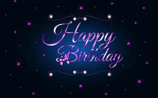 Purple Happy Birthday Wishes