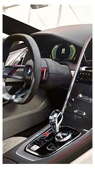 Burlappcar: BMW 8 series interior
