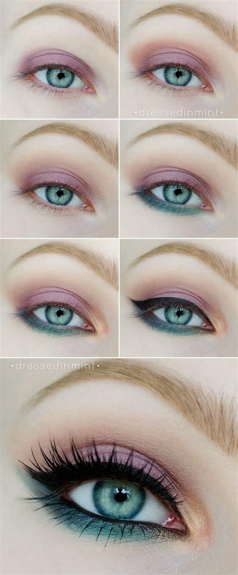 easy makeup tutorials  blue eyes styles weekly