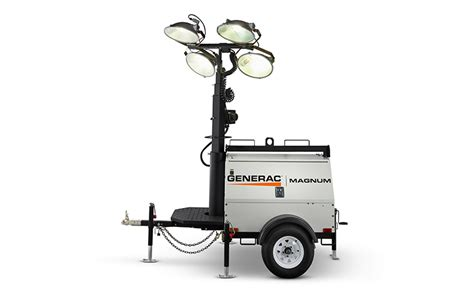magnum light towers generac magnum mlt4150 light tower with 15kw generator