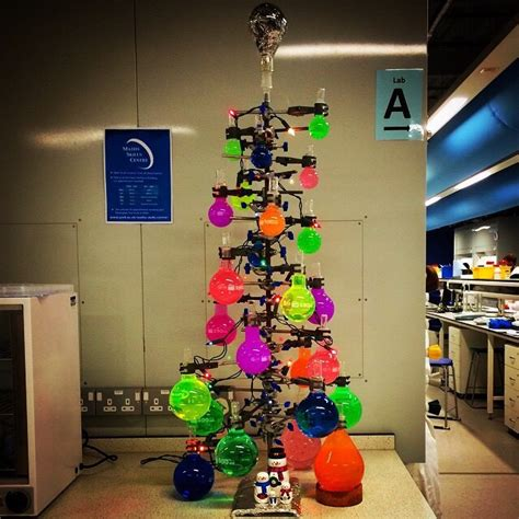 our chemistry christmas tree pics