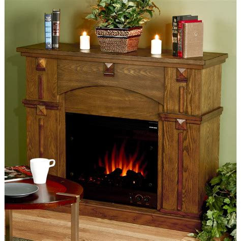 Corbel Fireplace by Southern Enterprises Inc Mission Corbel Fireplace With