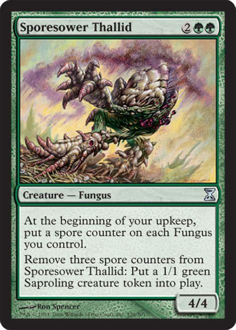 saproling deck mono green fungus among us magic the gathering