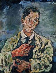 Kokoschka Self Portrait 1917