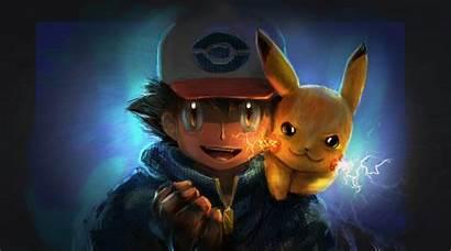 Pikachu Ash Wallpapers Artwork 4k Pokemon Deviantart