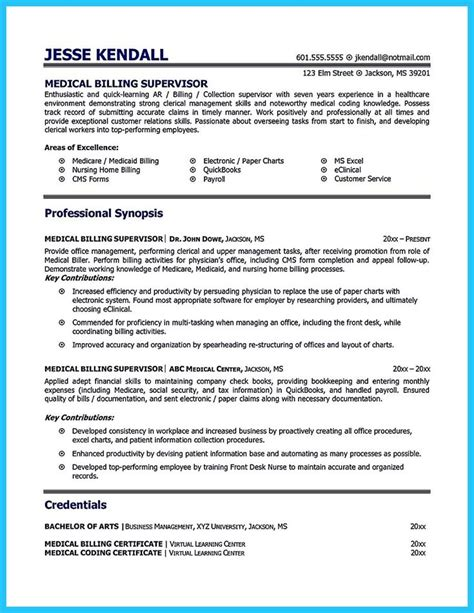 Resume Specialist by Cool Exciting Billing Specialist Resume That Brings The
