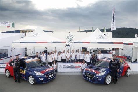 peugeot germany a strong of strenght for the peugeot rally academy in