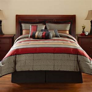 Mainstays, Full, Or, Queen, Preston, Geometric, Bedding