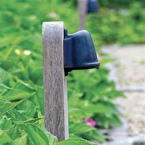 Holz ölen Außen : indirekte holz pollerleuchte au en mit led technik ~ Orissabook.com Haus und Dekorationen