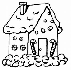 gingerbread house coloring pages - ginger bread house coloring page coloring point