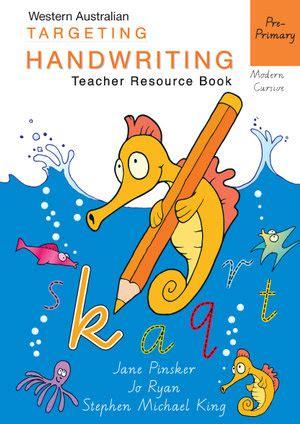 booktopia targeting handwriting wa pre primary teacher