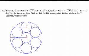 Wie Groß Werde Ich Berechnen : welcher teil der fl che des gro en kreises wird von den 7 ~ Themetempest.com Abrechnung