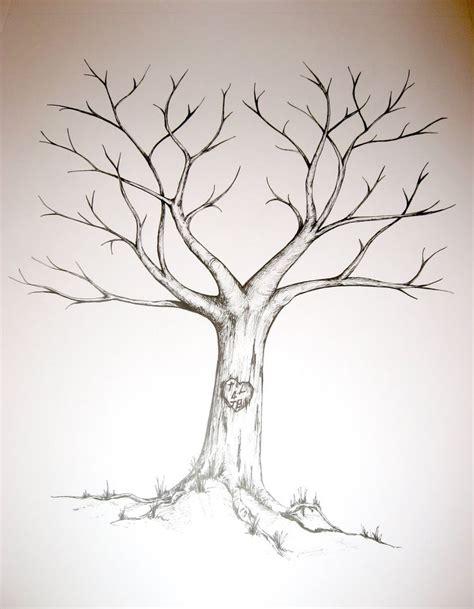 wedding fingerprint tree template thai jemmas