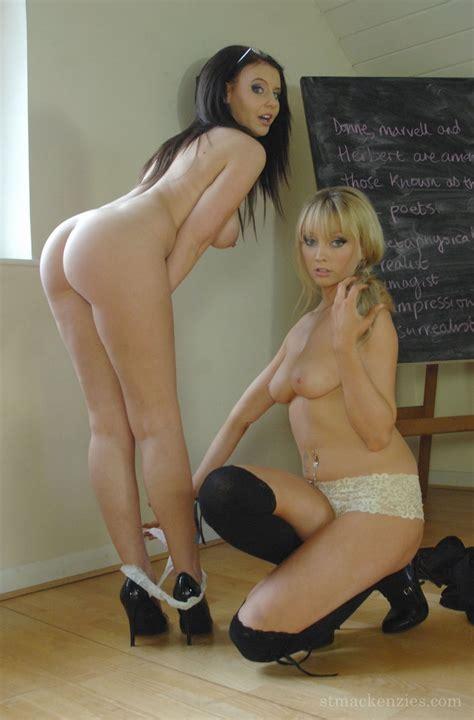 Unruly Schoolgirls Busty Teacher Teases Schoolgirl Of St Mackenzies Institute Of Learning