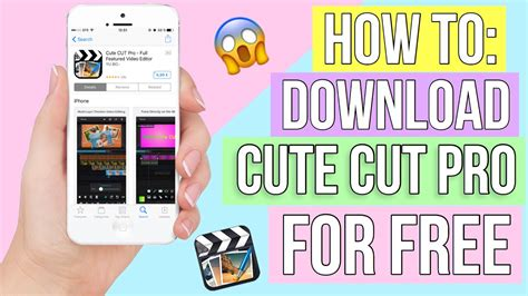 how to cut on iphone how to cut pro for free on iphone 2017