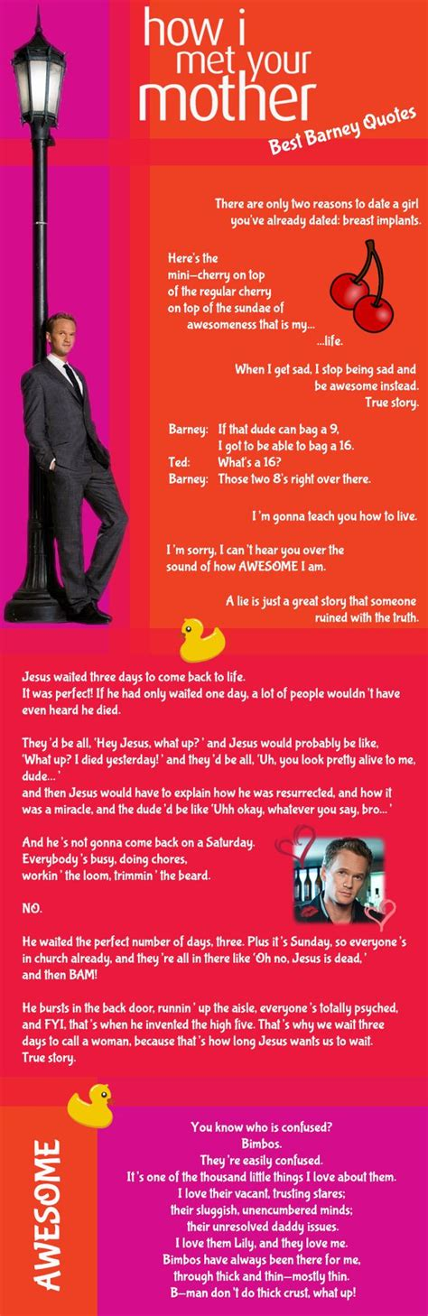 17 best barney quotes on barney stinson quotes