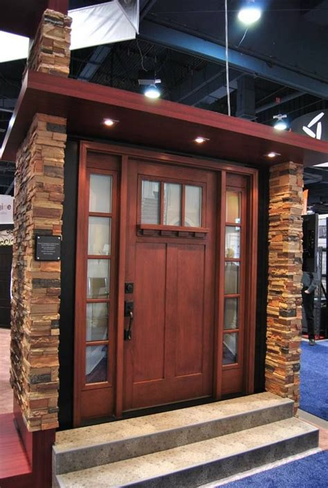 craftsman entry door  sidelights  transom google