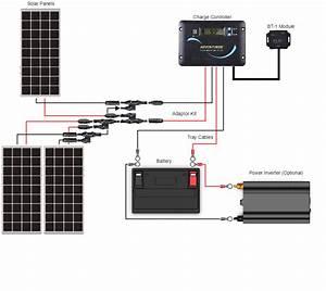 12 Volt Solar Renogy Wiring Diagram Pollak Trailer Plugs Wiring