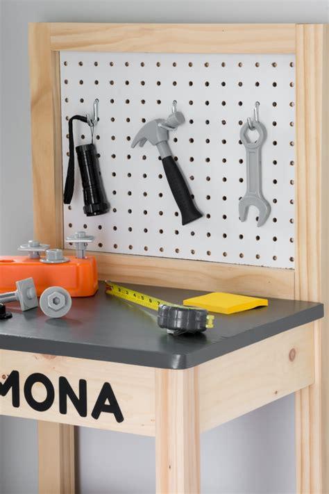 diy kids workbench build plans build  play workbench
