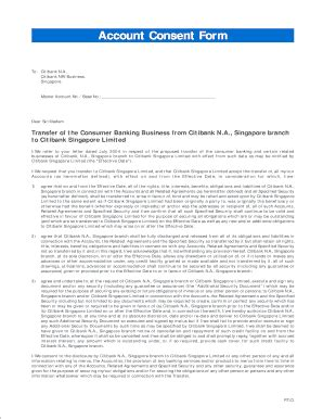 citibank singapore forms citibank consent form fill online printable fillable