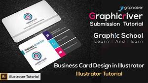 How to make a business card design in illustrator for How to make a business card in illustrator